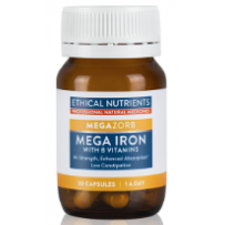 Ethical Nutrients Megazorb Mega Iron 30caps