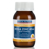 Ethical Nutrients Mega Zinc 40MG Powder 95g