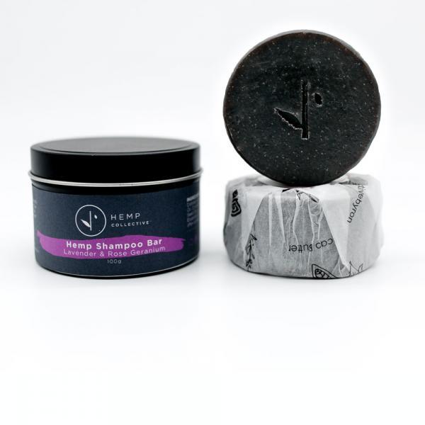 HC Shampoo Bar Lavender & Rose Geranium