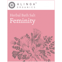 Alinga Organics Herbal Bath Salt Feminity 300g
