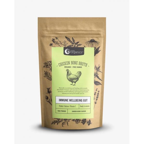 N Organics Bone Broth Chicken Garden Herb 100g