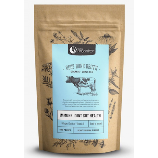 N Organics Beef Bone Broth Hearty Original 100g
