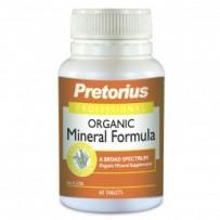 Pretorius Organic Mineral Formula 60tabs