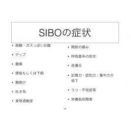 動画セミナー SIBO(シーボ・小腸内異常増殖症候群)対策