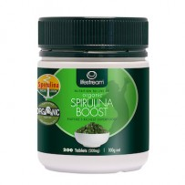 Lifestream Certified Organic Spirulina Boost 200tablets