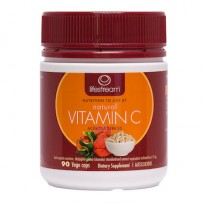 Lifestream Natural Vitamin C 90caps
