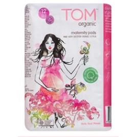 TOM Organic Maternity Pads (12pack)